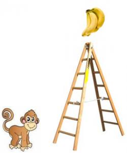 singe-bananes-escabeau