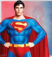 position de pouvoir superman